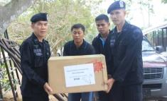 ทดสอบแผ่นเกราะกันกระสุน (ศูนย์รักษาความปลอดภัย กองบัญชาการกองทัพไทย)